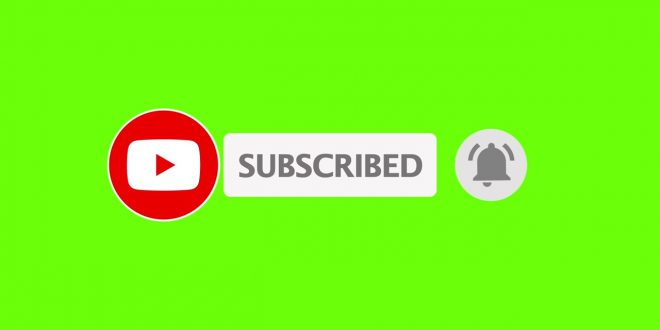 Download Green Screen Subscribe MP4