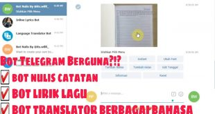 bot Telegram yang berguna untuk pelajar