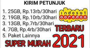 kode paket internet murah indosat 2021